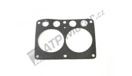 Gasket engine block IFA W50, E-512 Armstrong