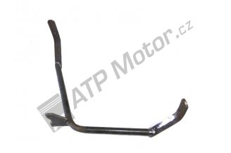 Holder for rubber mudguard LH