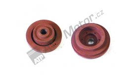 Absorber of torsional vibrations 6C 2+2/42 mm