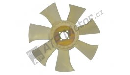 Fan plastic d=385/40 mm 7 blades AGS Premium quality