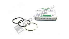 Piston ring set compressor new type 65,0mm UŘ III 93-4599 AGS Premium quality