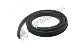 Sealing rubber windscreen profile