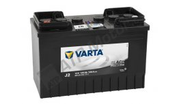 Varta 12V 125 Ah J2 BLACK HD 625014072