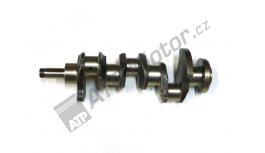 Crankshaft 3C forget integrated counterweight