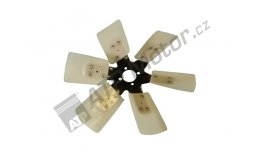 Fan L=384/40 mm 6 blades 35° AGS Premium quality