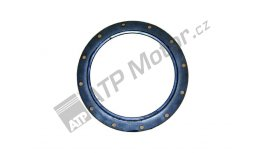 Sealing ring with blade