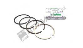 Piston ring set 102 4R AGS Premium quality