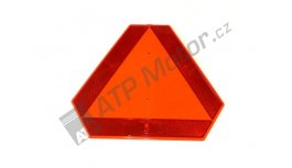 Warning triangle plastic