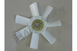 Fan plastic d=460/40mm 7 blades AGS Premium quality