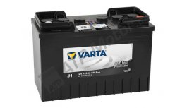 Varta 12V 125 Ah J1 BLACK HD 625012072
