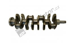 Crankshaft 4C forget integrated counterweight