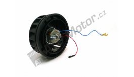 Heating fan with holder 12V 93-351-012 L-750, 752, UNC-060 AGS Premium quality