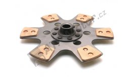 Travelling clutch plate d=310/18gr CER AGS Premium quality